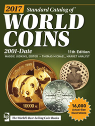 2017 Standard Catalog of World Coins 2001-Date, 11th Edition