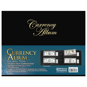 Whitman Currency Album for Modern Notes