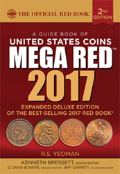 2017 MEGA Redbook Guide Book US Coins