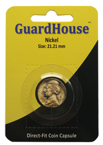 Nickel Direct Fit Guardhouse Capsule - Retail Card