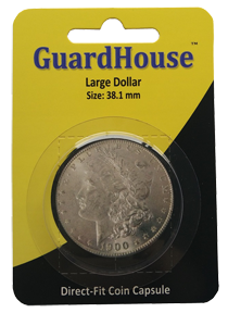 Large Dollar Direct Fit Guardhouse Capsule - Retail Card