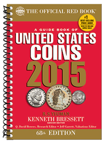 2015 Red Book US Coin Price Guide