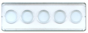 2x6 Nickel Strip 5 Hole - 25/pack 2x6 0794819680, 20696, 2x6 Nickel Strip 5 Hole - 25/pack, Whitman,