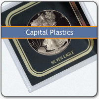 Capital Plastics Holder for Certified Currency Certified Currency, Holder, Capital Plastics