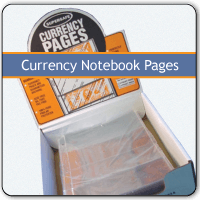Currency Notebook Pages