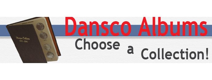 Dansco Coin Albums - Choose by denomination
