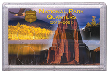 National Parks Rock and Eagle Design Frosty Case - 6 Hole National Parks, Rock and Eagle Design, Frosty Case - 6 Hole, 0794828876