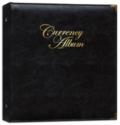Whitman Premium Currency Album for Modern Notes - Clear View Premium, Currency, Album - Small Notes, 0794827810