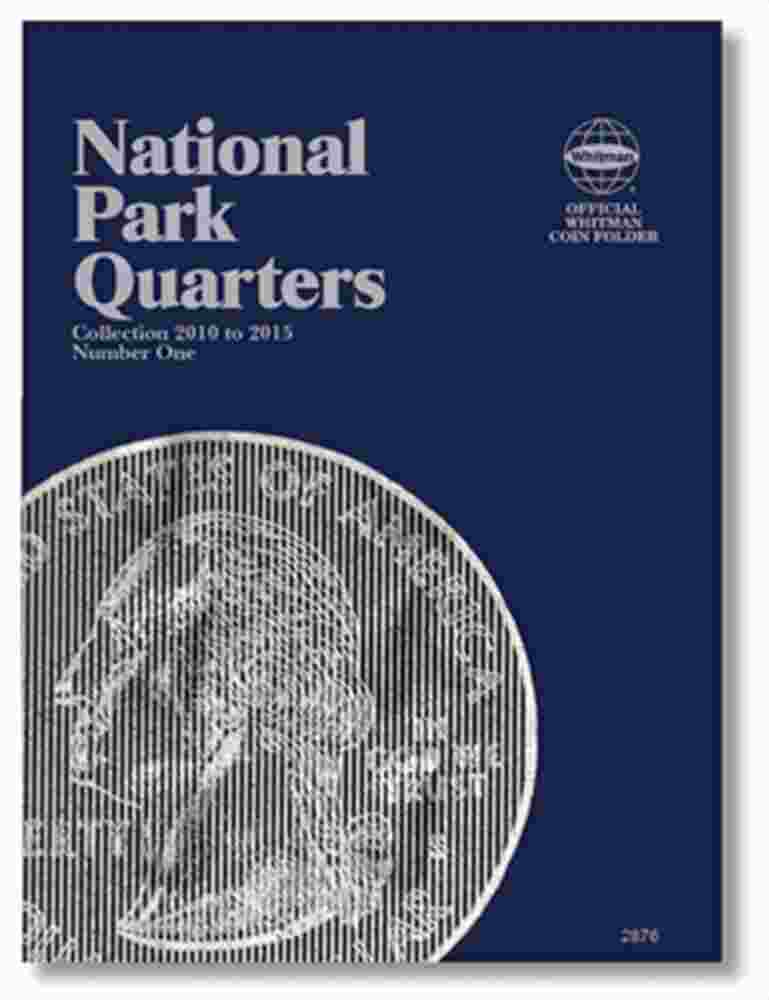 Whitman National Park Quarters Coin Folders P&D