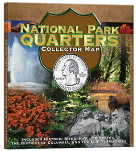 Whitman National Park Quaters Map