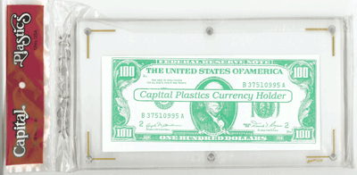 Currency Holder Large Currency Holder, Capital, CH-2