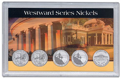 HE Harris 2006 Commemorative Nickel 5 Coin Frosty Case 3x5 HE Harris 2006 Commemorative Nickel 5 Coin Frosty Case, HE Harris & Co, 90923010