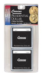Presidential Dollar 2x2 Snaplock Coin Holder HE Harris Retail Pack 2x2