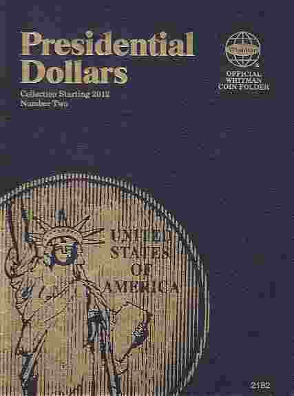 Presidential Dollar Folder Whitman Volume II