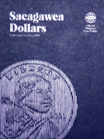 Whitman Sacagawea Dollar Coin Folder 6x7.75 Whitman Sacagawea Dollar Coin Folder, Whitman, 8060