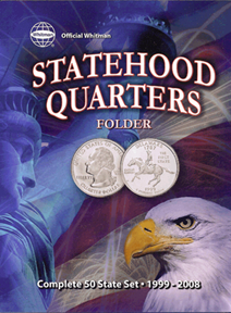 Whitman Official Statehood Quarter Folder