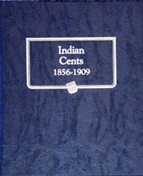 Indian Cents Whitman Coin Album Indian Cents Whitman Coin Album, Whitman, 9111