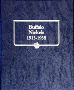Buffalo Nickels Whitman Coin Album Buffalo Nickels, Whitman Coin Album, 9115