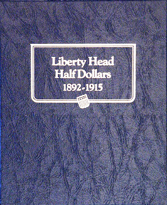 Barber Half Dollar Whitman Coin Album Barber Half Dollar Whitman Coin Album, Whitman, 9124