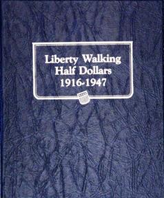 Walking Liberty Half Dollars Whitman Coin Album Walking Liberty Half Dollars Whitman Coin Album, Whitman, 9125