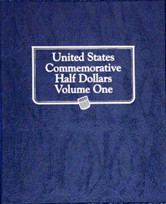 U.S. Commemorative Halves Whitman Album #1 U.S. Commemorative Halves Whitman Album #1, Whitman, 9159