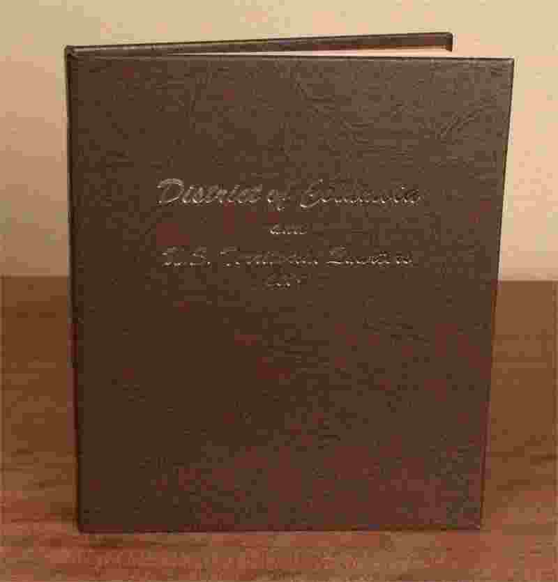 Dansco Washington DC and US Territory Quarters Book