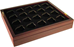 Guardhouse Wood Coin Tray for Air-Tite Capsules Size T