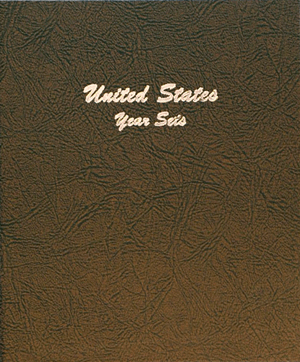 US Year Sets - Dansco Coin Album 7091 US Year Sets Dansco Coin Album , Dansco, 7091