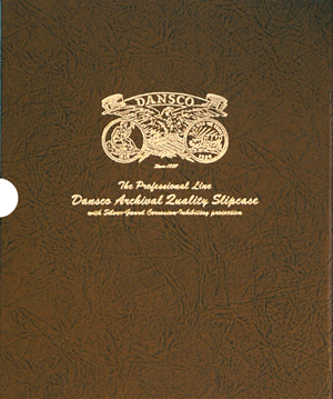 "1 1/8"" Dansco Coin Album Slipcase - 24640"