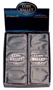 1941 18 Pocket Coin Wallet 7x2.75 1941 18 Pocket Coin Wallet, HE Harris & Co, 8ANC1316