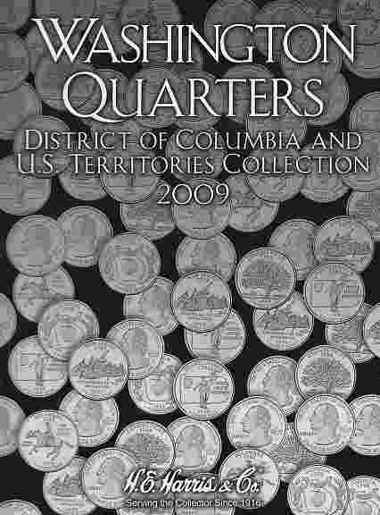 State Quarter 2009 HE Harris Coin Folder