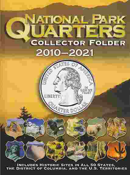 Whitman Coin Folder National Park Quarters