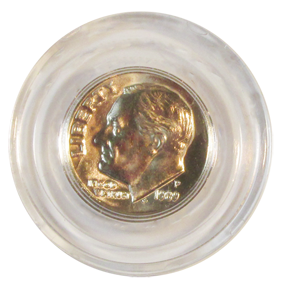Guardhouse Dime Size Acrylic Coin Capsule 18 mm