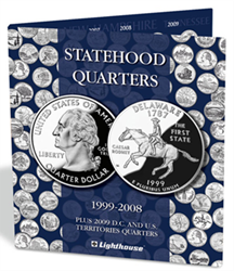 Lighthouse State Quarters Folder with DC & Territories