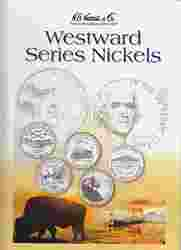 Westward Journey Nickels HE Harris Coin Folder