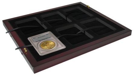 Certified Coin Slab Tray - Holds 6 Slabs Certified Coin Slab Tray - Holds 6 Slabs, SLAB TRAY