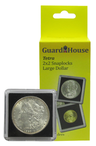 Guardhouse Tetra 2x2 Snaplock Coin Holder - Large Dollar