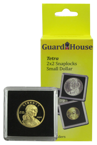 Guardhouse Tetra 2x2 Snaplock Coin Holder - Small Dollars
