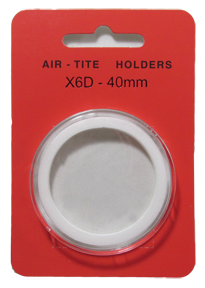 Air Tite High Relief 40mm Retail Package Holders - Model X6D